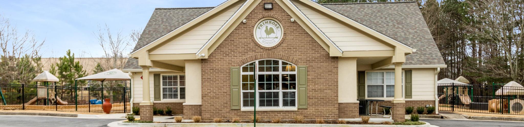 Exterior of a Primrose School at Macland Pointe