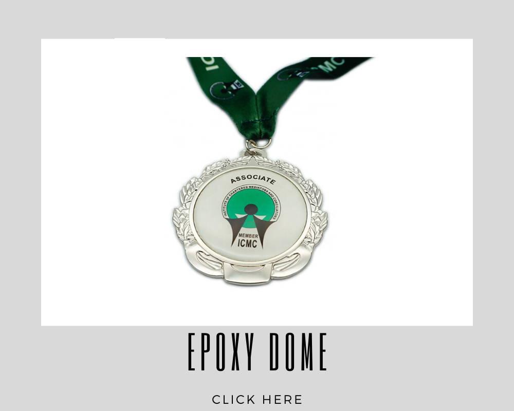 Custom Epoxy Dome Corporate Medallions