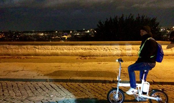 Индивидуальный тур вечерний Рим на электровелосипеде