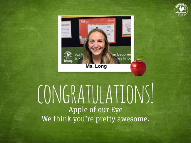 January Apple of Our Eye