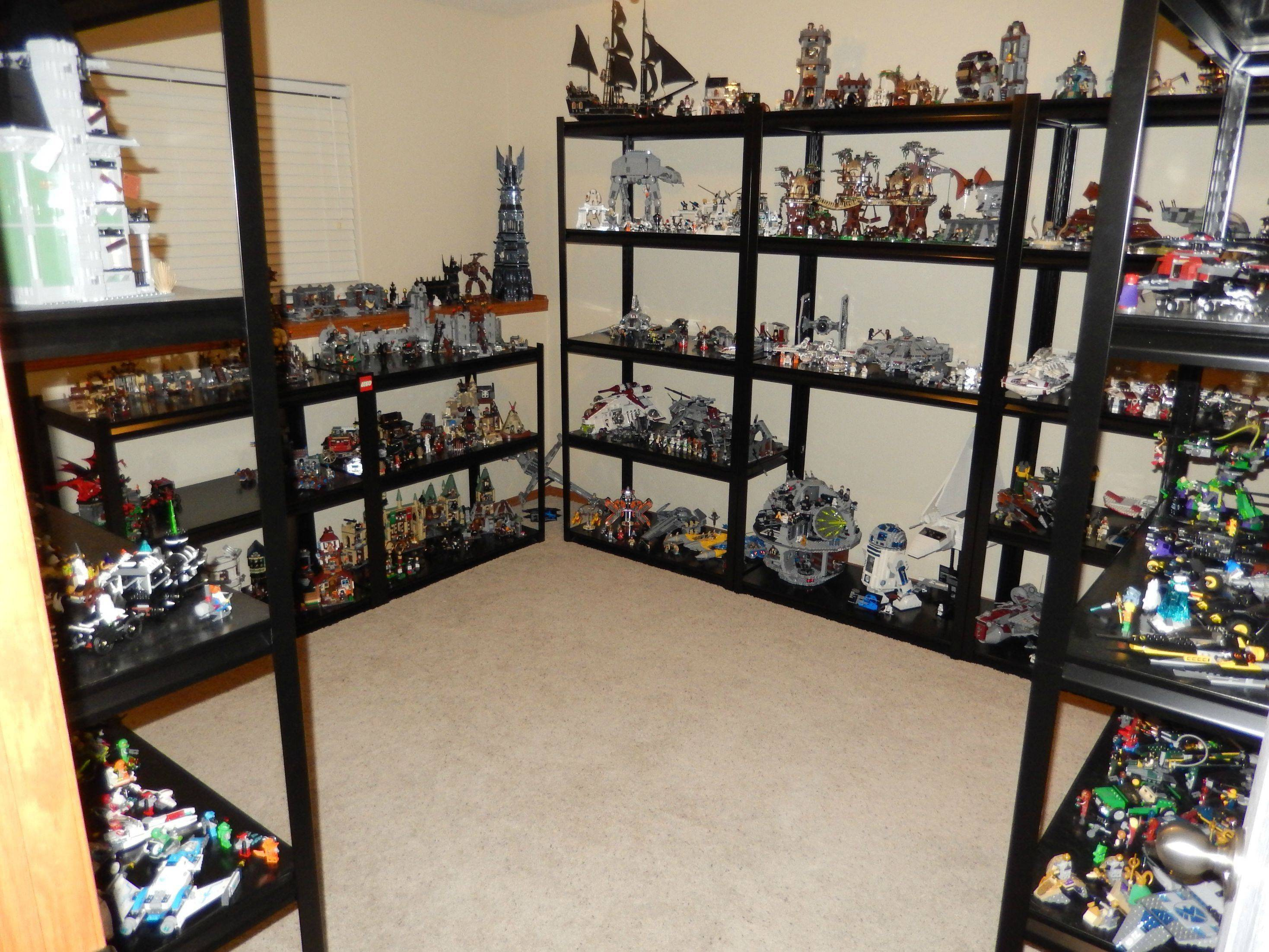 lego sets in the room