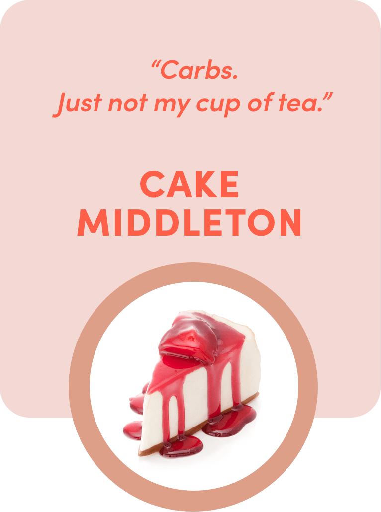 cake middleton quote