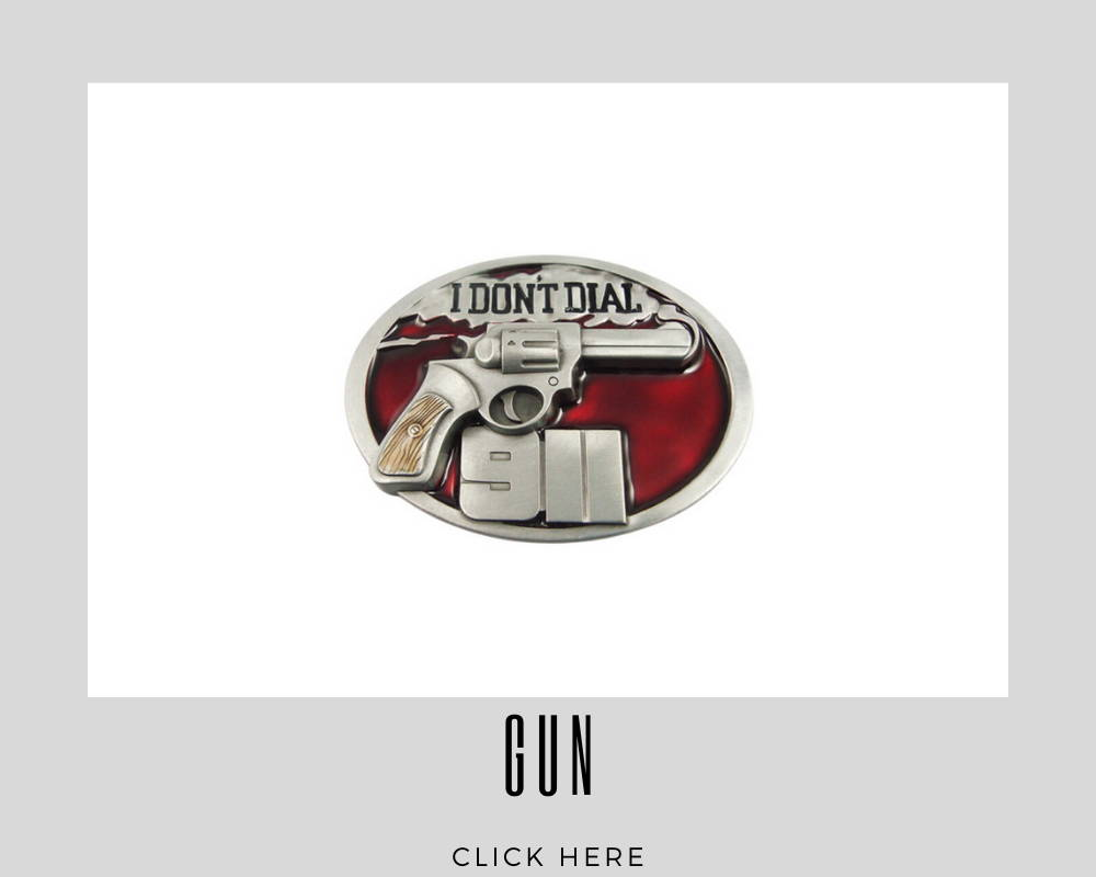 Corporate Custom Gun Belt Buckles