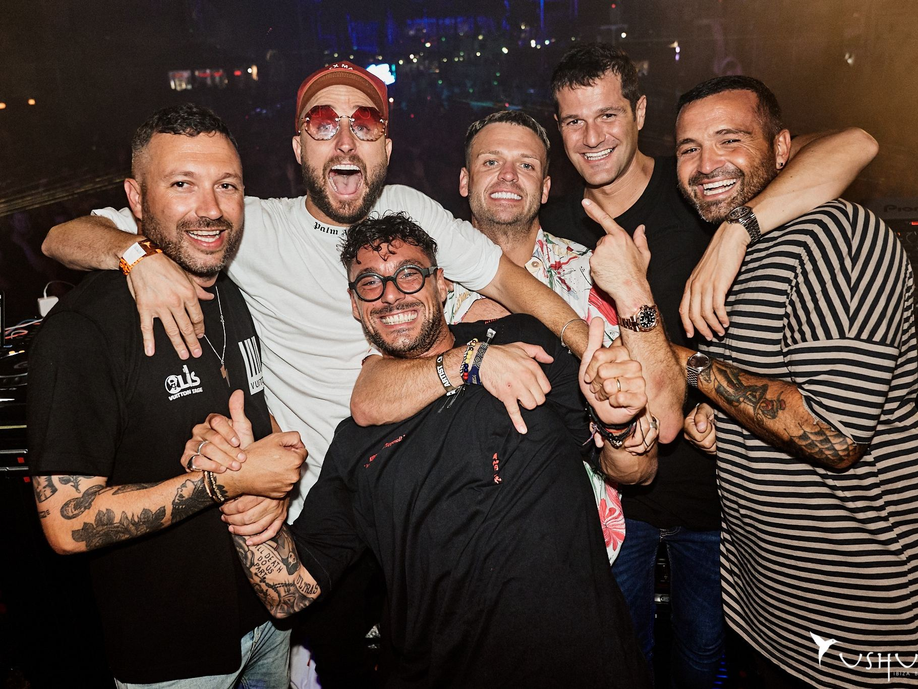 Nic Fanculli birthday party  at dance or die Ushuaia Ibiza