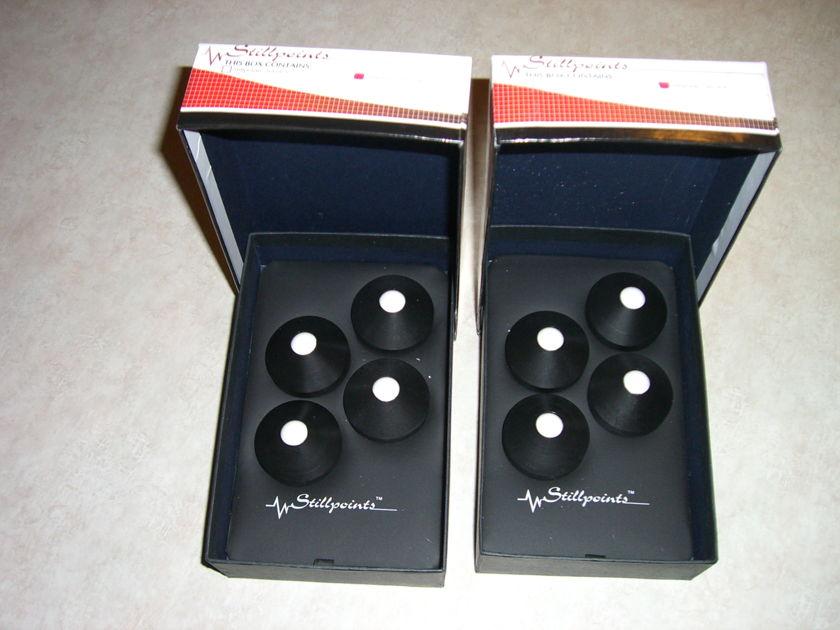 Stillpoints Universal Resonance Damper 4 set of 4 w/box like new $700