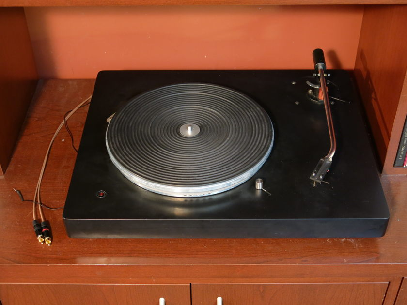 """PTP Audio Solid 12 Turntable with Thomas Schick 12"""" arm"""