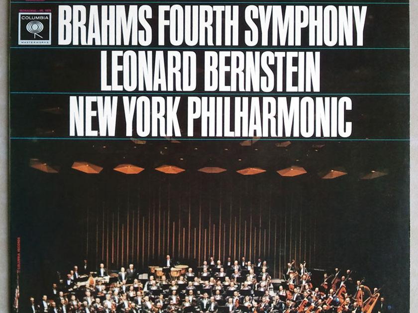 COLUMBIA   BERNSTEIN/BRAHMS - Symphony No. 4 / NM