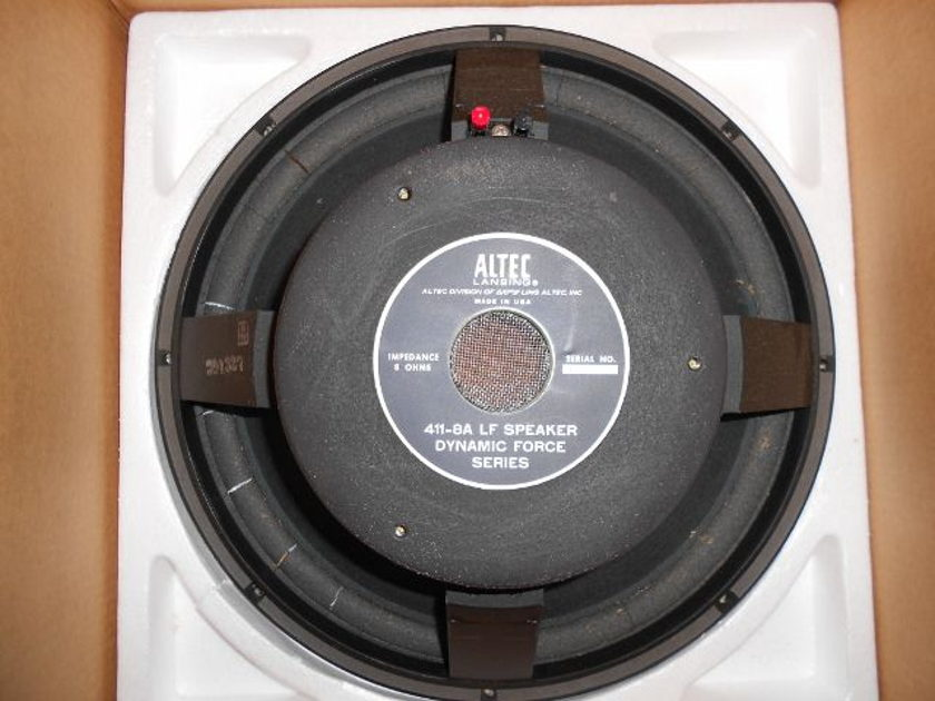 Altec Lansing 411-8A Low Frequency Speaker (2)