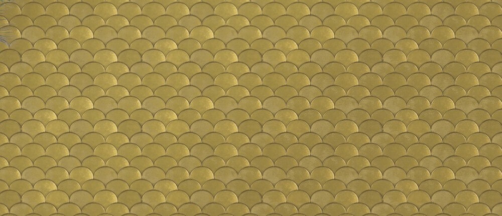Tempaper Brass Belly Removable Wallpaper