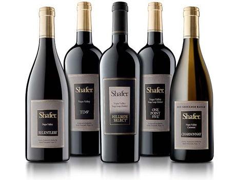 Fabulous Shafer Vineyards Assortment