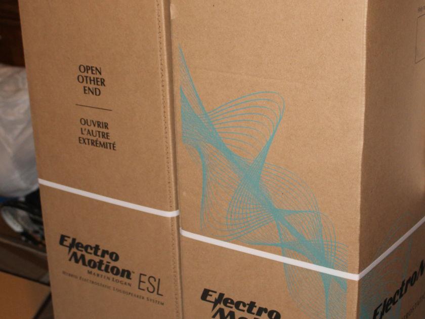 Martin Logan ElectroMotion ESL Piano Black