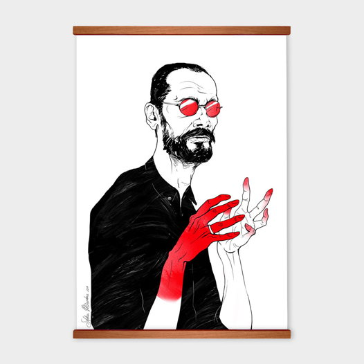 Постер «Him» от Oh So Me (серия Home)