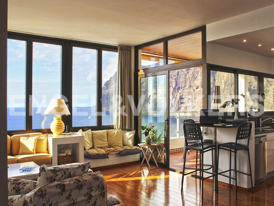 Costa Adeje - Property for sale in Tenerife: Luxurious apartment with incredible views in Los Gigantes, Tenerife South, Engel & Völkers Costa Adeje