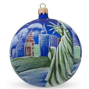 Citie & Landmark Christmas Ornaments