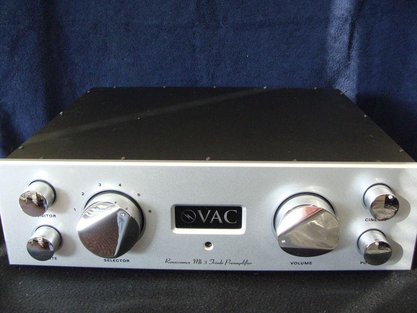 Valve Amplification Company (VAC) Renaissance MKIII Preamplifier