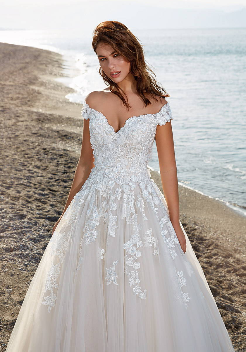 EDDY K WEDDING DRESS CALA