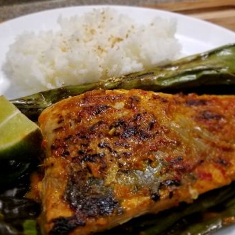 My husband just love it!!  I can't find stingray in San Francisco, so I'm using salmon to substitute the ingredient.