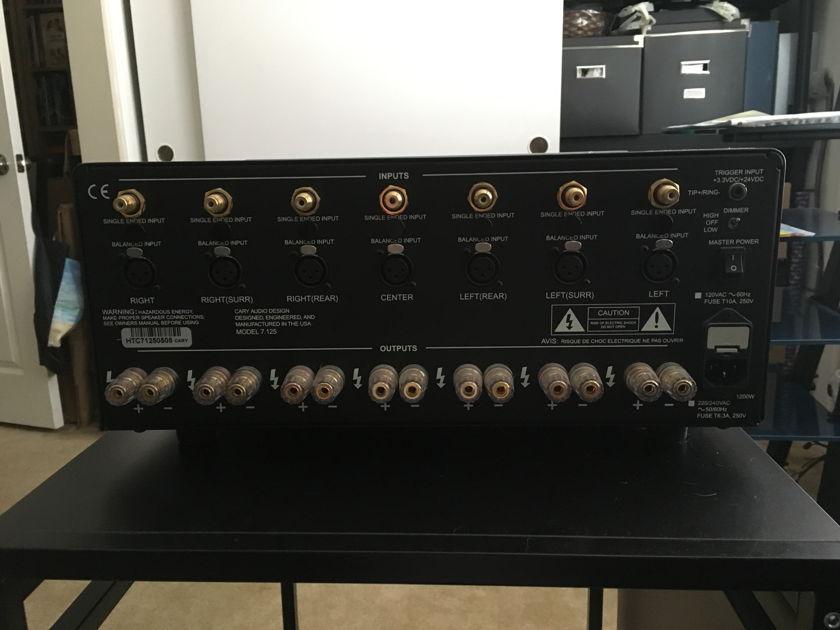 Cary Audio Design Model 7.125 7 Channel HT Amplifier