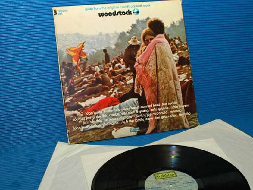 "WOODSTOCK -  - ""Music from the Original Soundtrack"" -  Cotillion 1970"