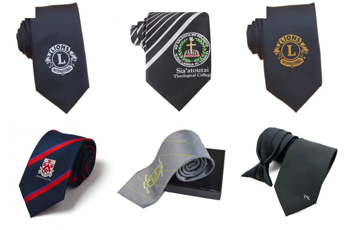 Schools Custom Logo Necktie
