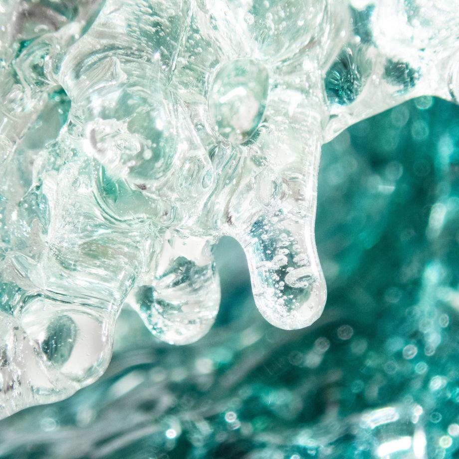 Интерьерное украшение Волна 00:04 Цвет морской волны