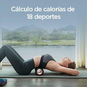 Amazfit Smart Scale - Analiza el costo de calorías de 18 deportes para un culturismo eficiente.