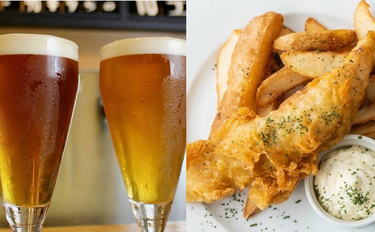 クラフトビール フィッシュ&チップス