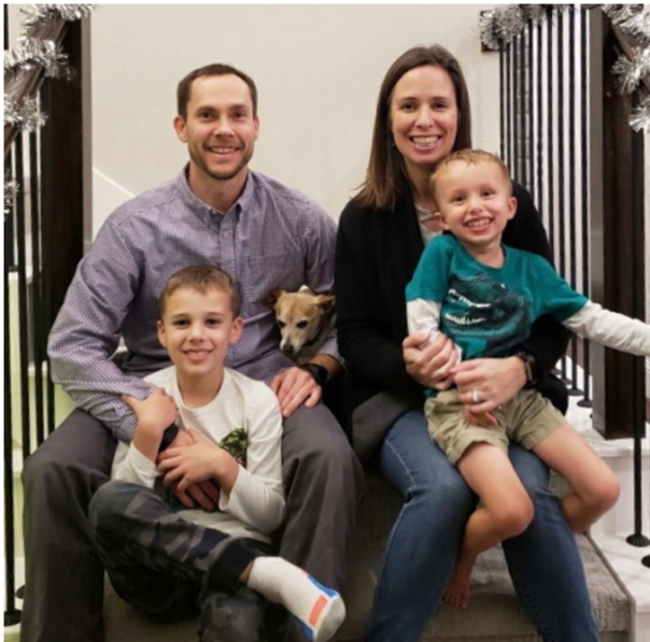 April 2019 Family of the Month - The Hansford Family from Primrose School of Barker Cypress, Cypress, Texas