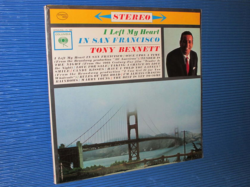 "TONY BENNETT   - ""I Left My Heart In San Francisco"" - Columbia 1980 SEALED"
