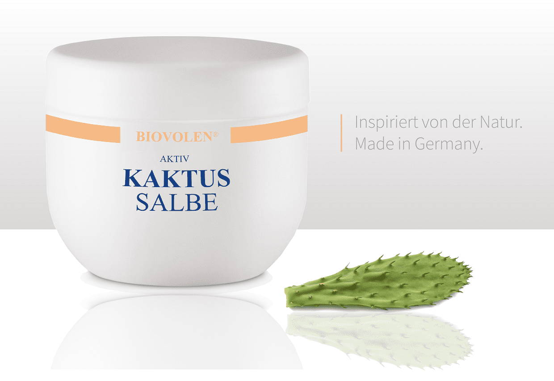 Biovolen Kaktussalbe gegen trockene Haut
