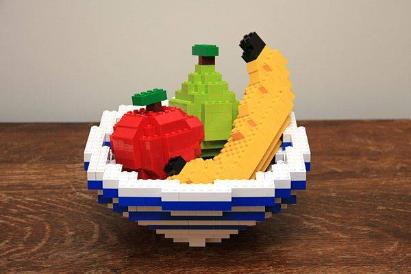 lego fruit bowl