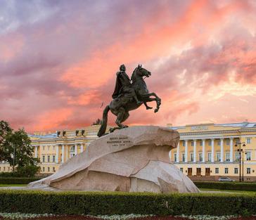 Обзорная пешая экскурсия по центру Петербурга