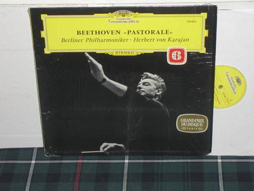 Von Karajan/BPO - Beethoven No.6 Pastorale DG German import  press