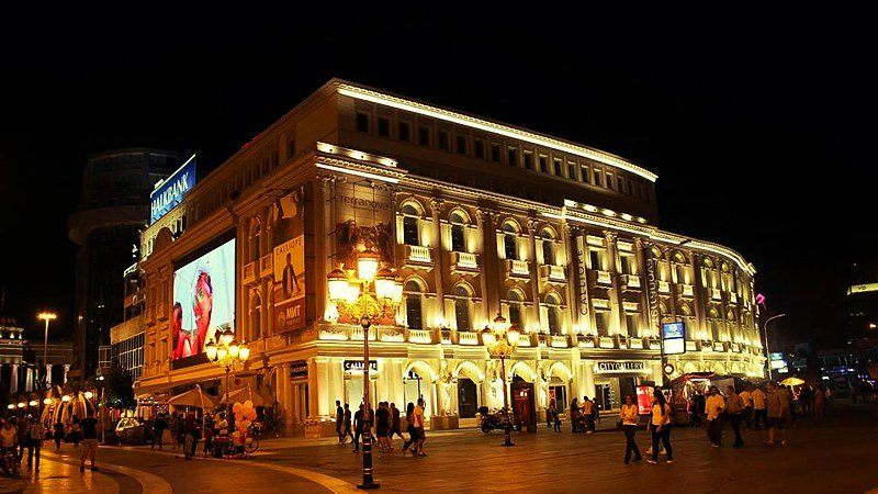 Night life, Skopje, Macedonia
