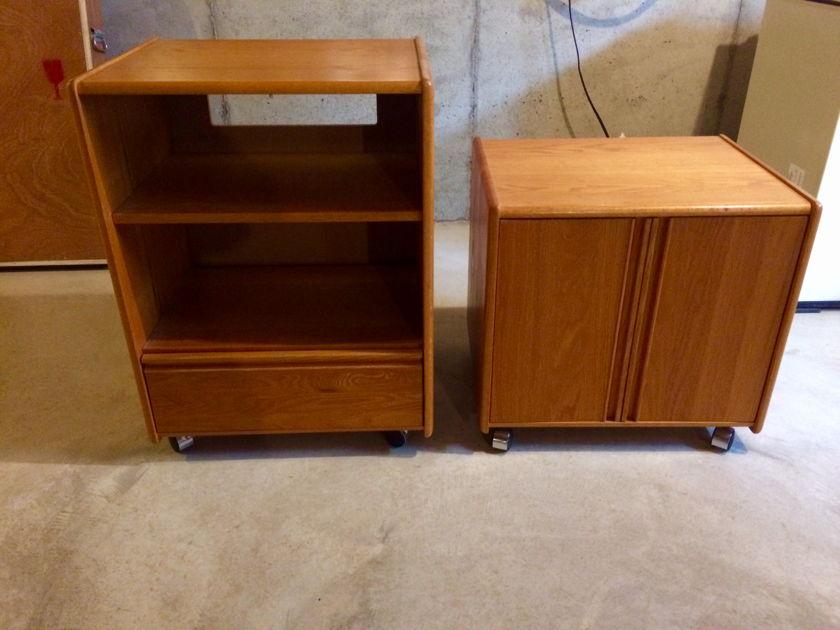 Custom Woodwork Design CDW natural oak Cabinets