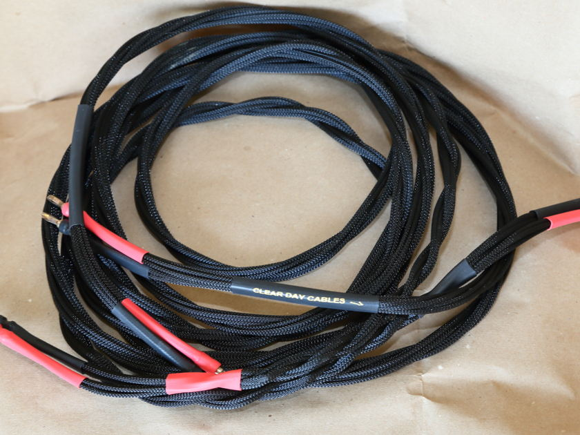 Clearday Double Shotgun Silver speaker cable