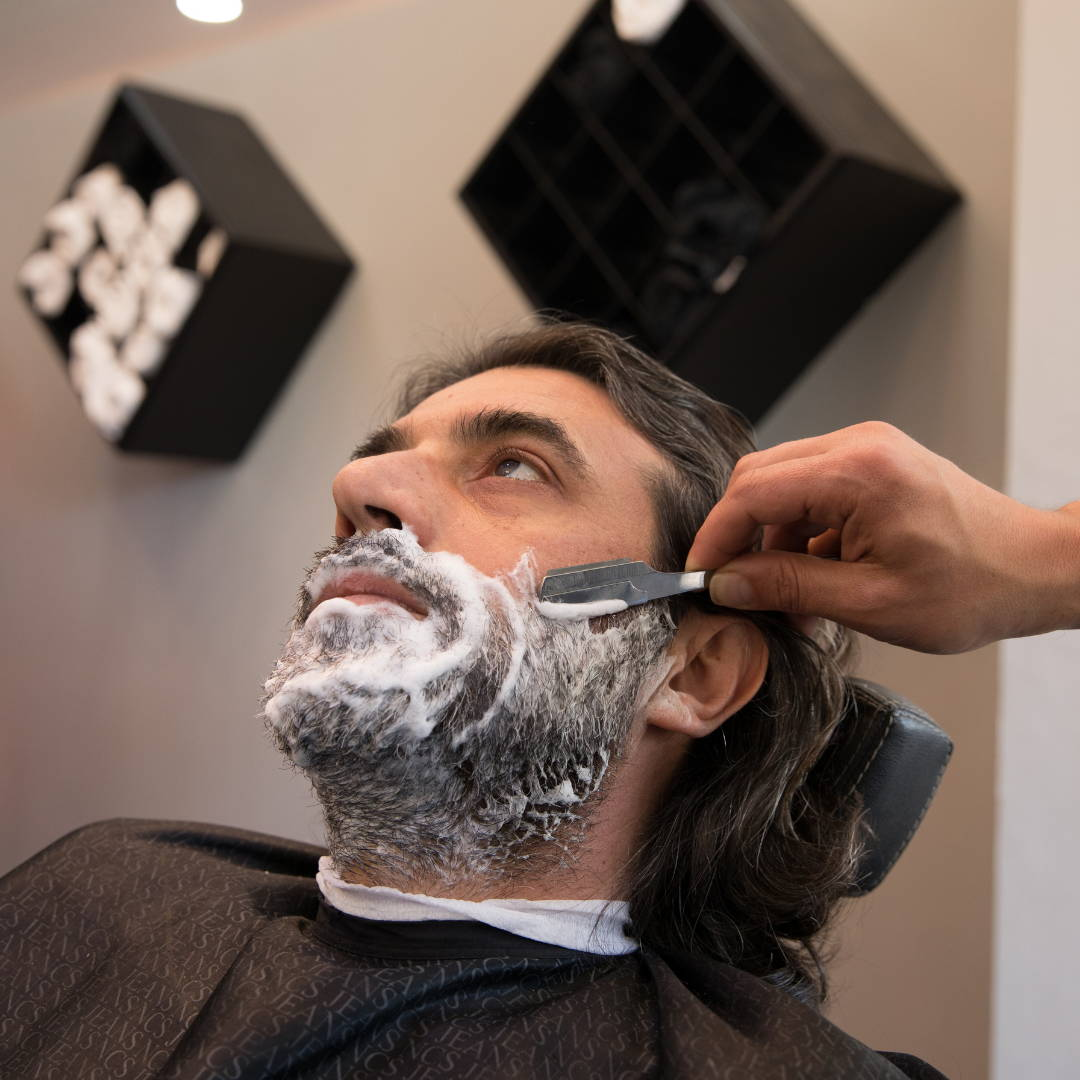 How to shave your beard line