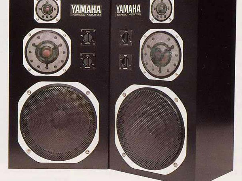 Yamaha  NS-1000M  Studio Monitor Speakers