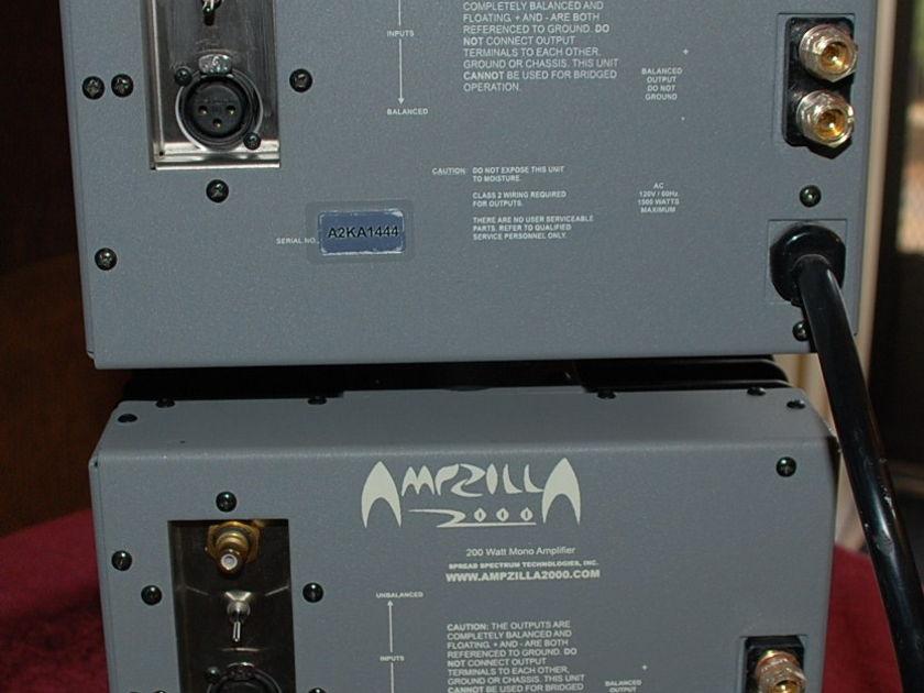 Spread Spectrum Ampzilla 2000 set of three Grand Prix Winner