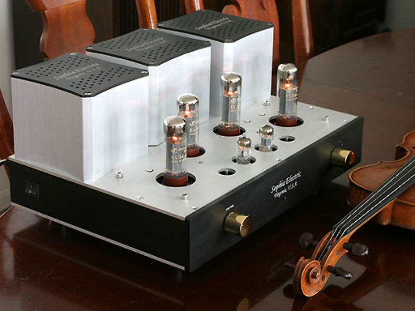 Sophia Electric Magic 126S Dual Mono Stereo push-pull tube amplifier