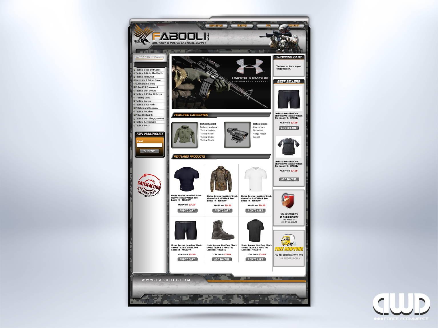 Volusion Custom Store Design