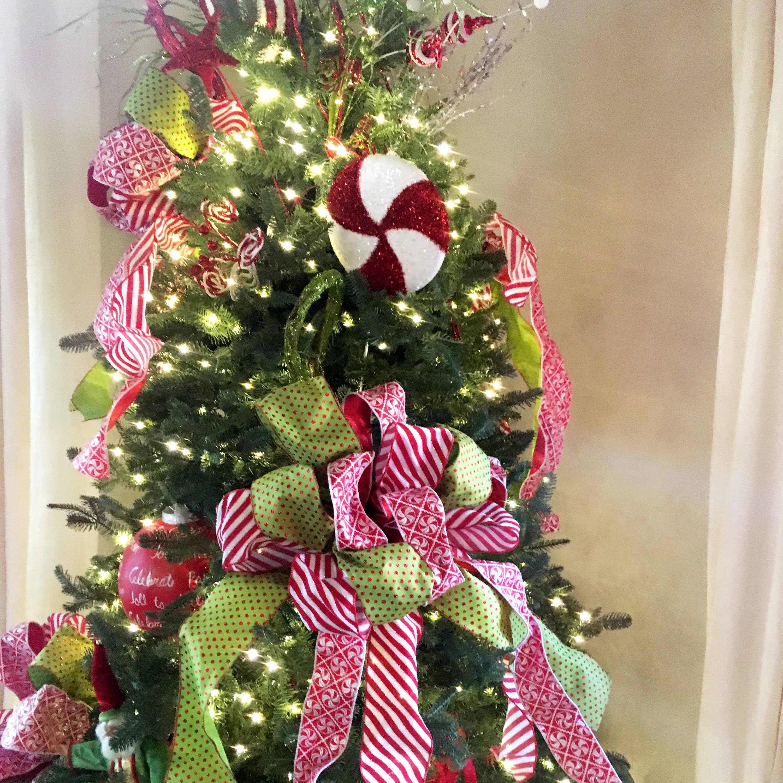 Sweets themed Christmas Tree