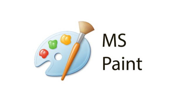 classic logo of Microsoft paint