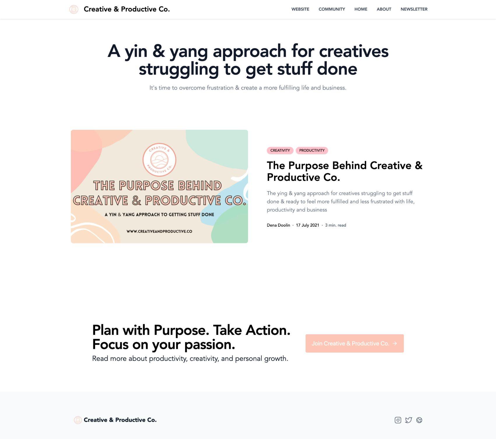 Creativeandproductiveco.mdx.one