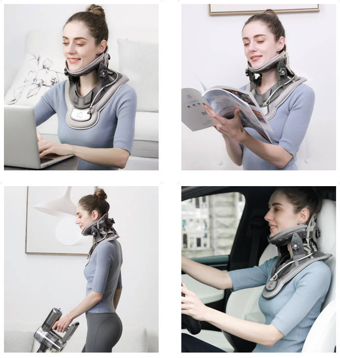 Neck traction  device , Cervical tractor , cervical traction device , saunders cervical traction device , neck pain relief , neck pain treatment , neck brace , neck hammock , neckk traction brace , effective neck pain relief , fast neck pain relief