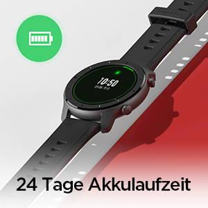 Amazfit GTR 47 mm - 24 Tage Akkulaufzeit