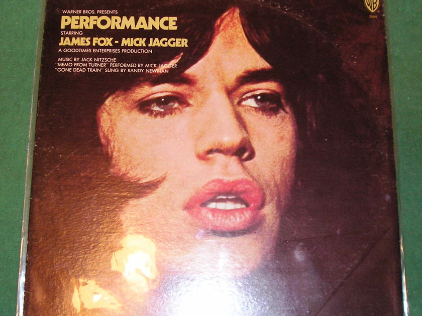 """MICK JAGGER """"PERFORMANCE"""" - 1970 WB GREEN LABEL 1st PRESS ***MEMO FROM TURNER***"""