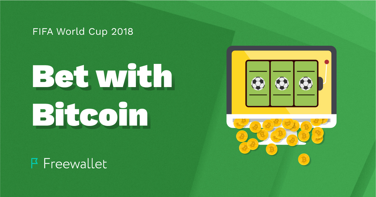5 betting websites that accept bitcoin for bets on the FIFA World Cup