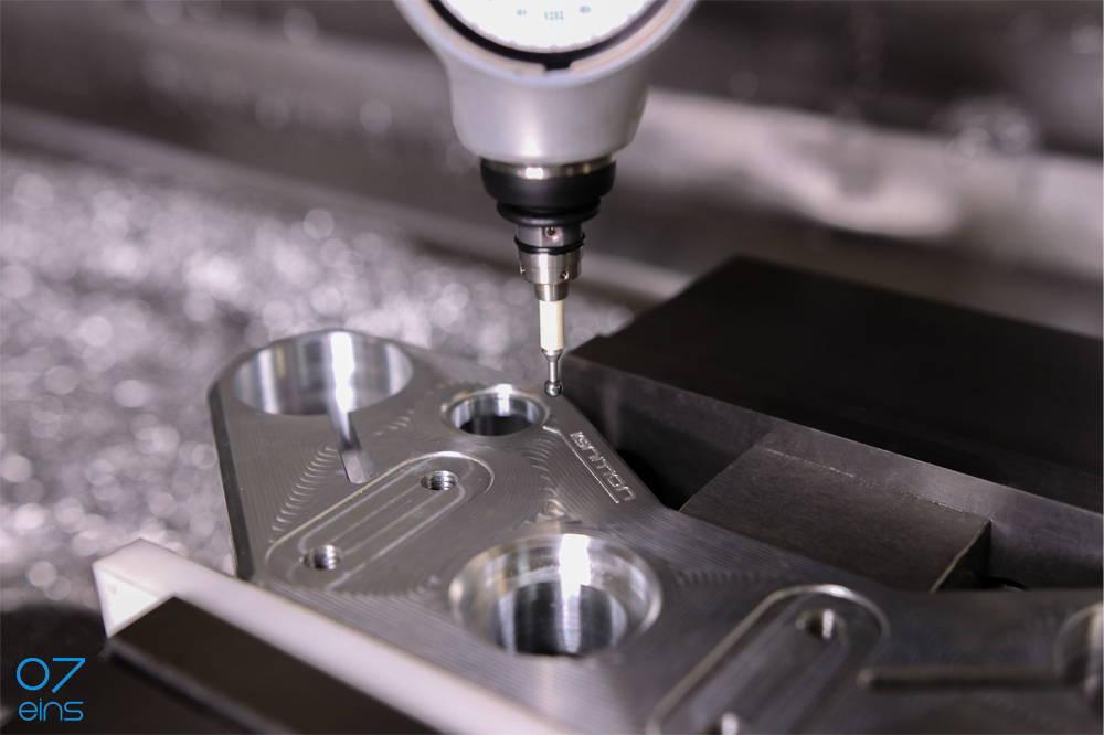 07eins / Prototyping - Messtechnik Frackteil