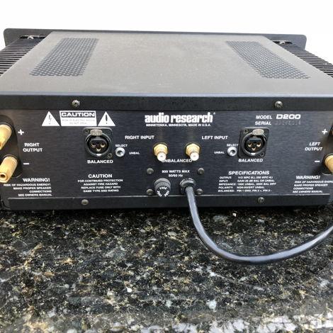 Audio Research D-200